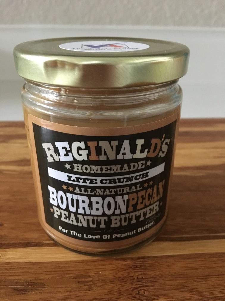 Reginald's Homemade Bourbon Pecan Peanut Butter 1